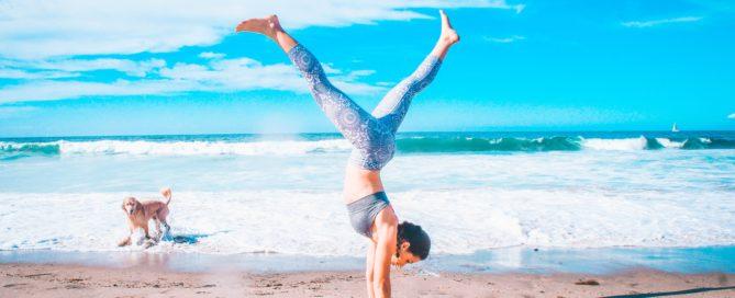 ejercicio para hacer en la playa