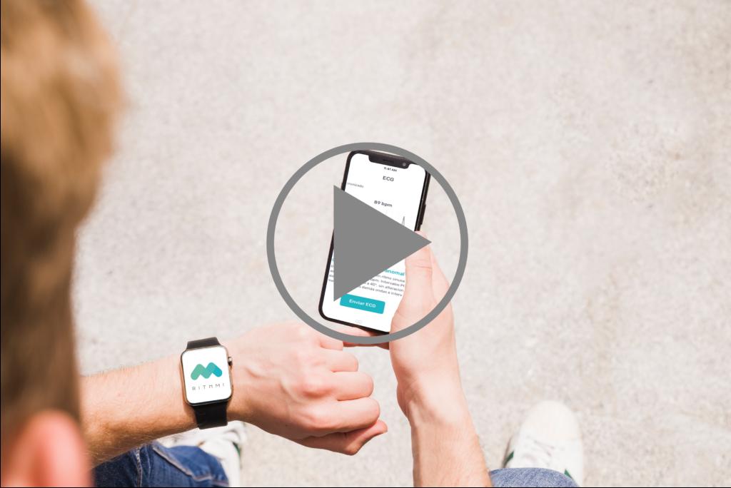 Rithmi, pulsera inteligente que detecta fibrilación auricular en tiempo real.