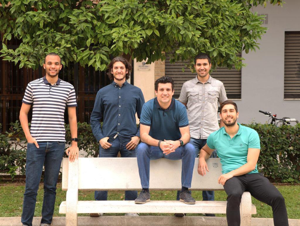 El equipo de Rithmi, en 2019.