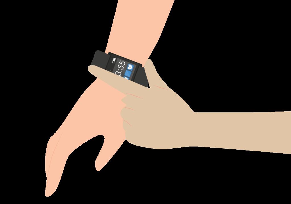 Con al pulsera inteligente de Rithmi podrás realizarte un electrocardiograma directamente en la misma pulsera