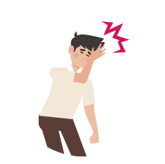 Dolor de cabeza intenso y repentino puede ser uno de los síntomas de ictus