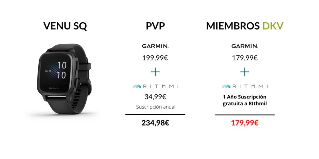 Modelo Venu SQ oferta DKV