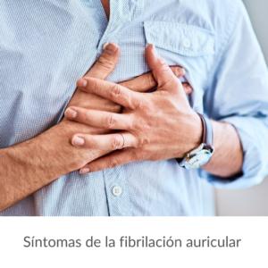 Síntomas fibrilación auricular
